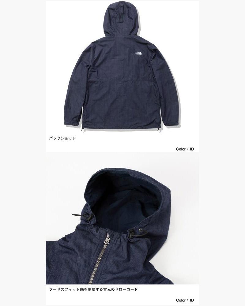 ノースフェイス ナイロンデニムコンパクトジャケット メンズ THE NORTH FACE Nylon Denim Compact Jacket NP22136