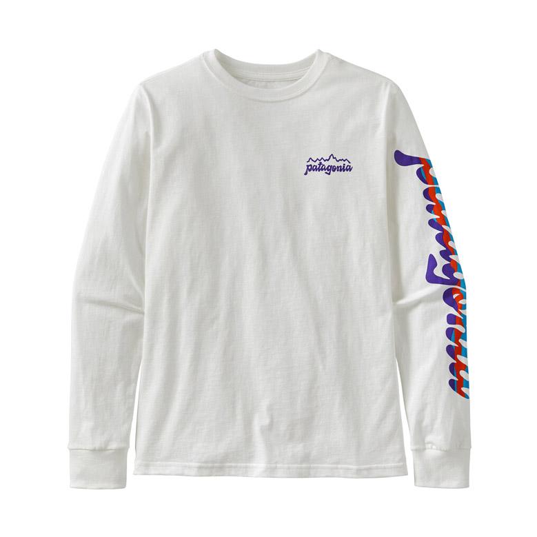 ボーイズ・ロングスリーブ・グラフィック・オーガニック・Tシャツ patagonia Boy's Long-Sleeved Graphic Organic Cotton T-Shirt 62229 2020春夏