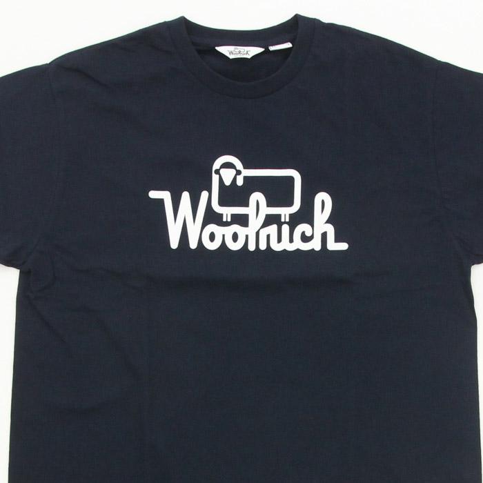 ウールリッチ ロゴT Wool Rich 2color