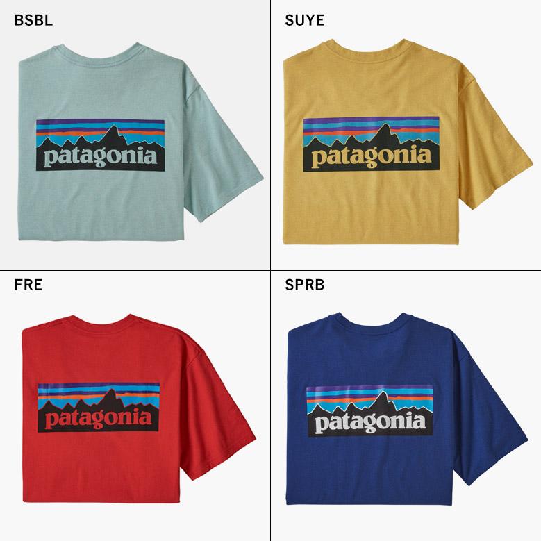 パタゴニア メンズ P-6ロゴ レスポンシビリティー patagonia Mens P-6 Logo Responsibili Tee 38504
