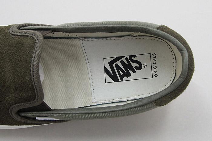 ヴァンズ スリッポン VANS OG SLIP-ON 59 LX TARMAC ターマック VN0A38FZN9A