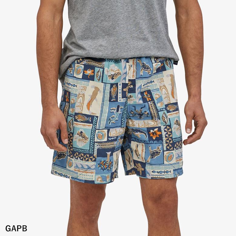 """パタゴニア メンズ バギーズ ショーツ 7インチ patagonia Ms baggies Shorts 7"""" 58034 【国内正規品】"""