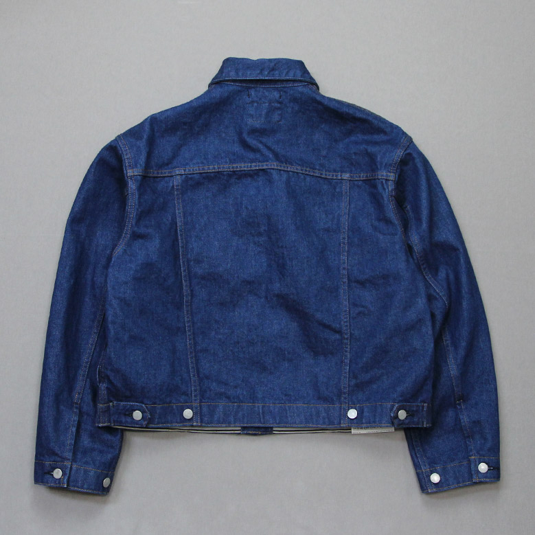 ウエストオーバーオールズ  857B デニムトラッカージャケット WESTOVERALLS DENIM TRACKER JACKET W/O
