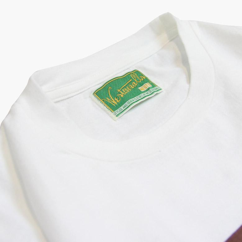 ウエストオーバーオールズ Tシャツ WESTOVERALLS  WEST'S T-SHIRT 19FWTS01