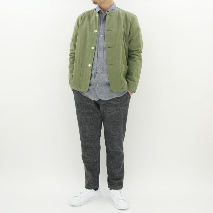 カトー ウェザーノーカラージャケット Kato' 2color
