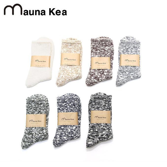 マウナケア スラブネップソックス Mauna kea Slab Nep Socks 7color