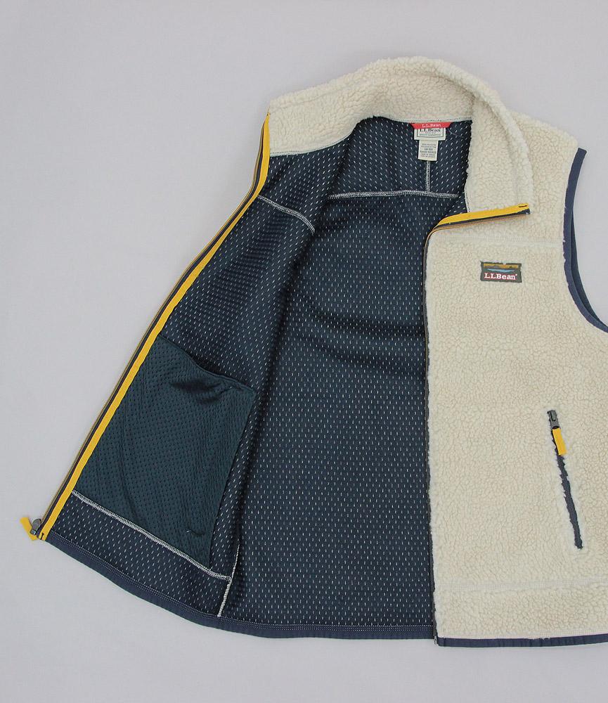 エルエルビーン メンズ マウンテンパイルフリースベスト L.L.Bean Men's Mountain Pile Fleece Vest