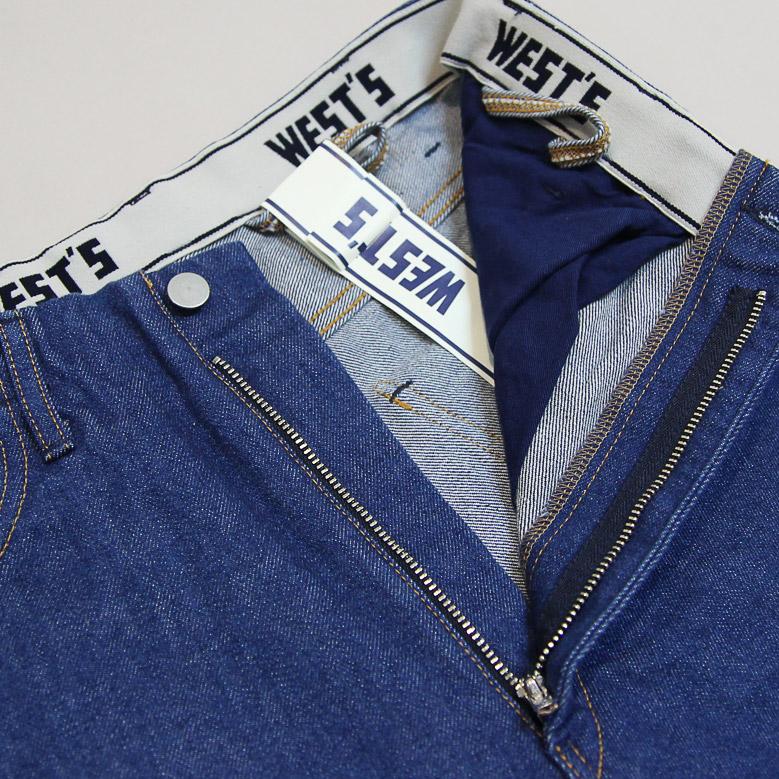 ウエストオーバーオールズ 801S ストレートデニム WESTOVERALLS 801S DENIM ONEWASH