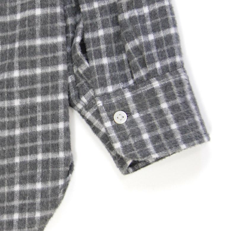 キャプテンサンシャイン コットンフランネルスタンドカラーシャツ Kaptain Sunshine Cotton Flannel Stand Collar Shirt KS20FSH03
