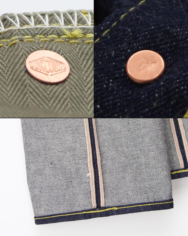 ボンクラ BONCOURA 本藍 デニムパンツ 大戦モデル Denim 5 Pocket WW� Natural Indigo 10th Anniversary Model