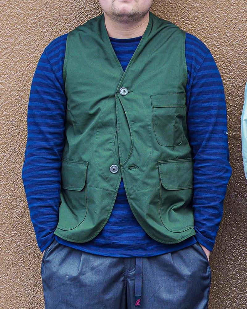 ササフラス ガーデンタフベスト SASSAFRAS Garden Tough Vest