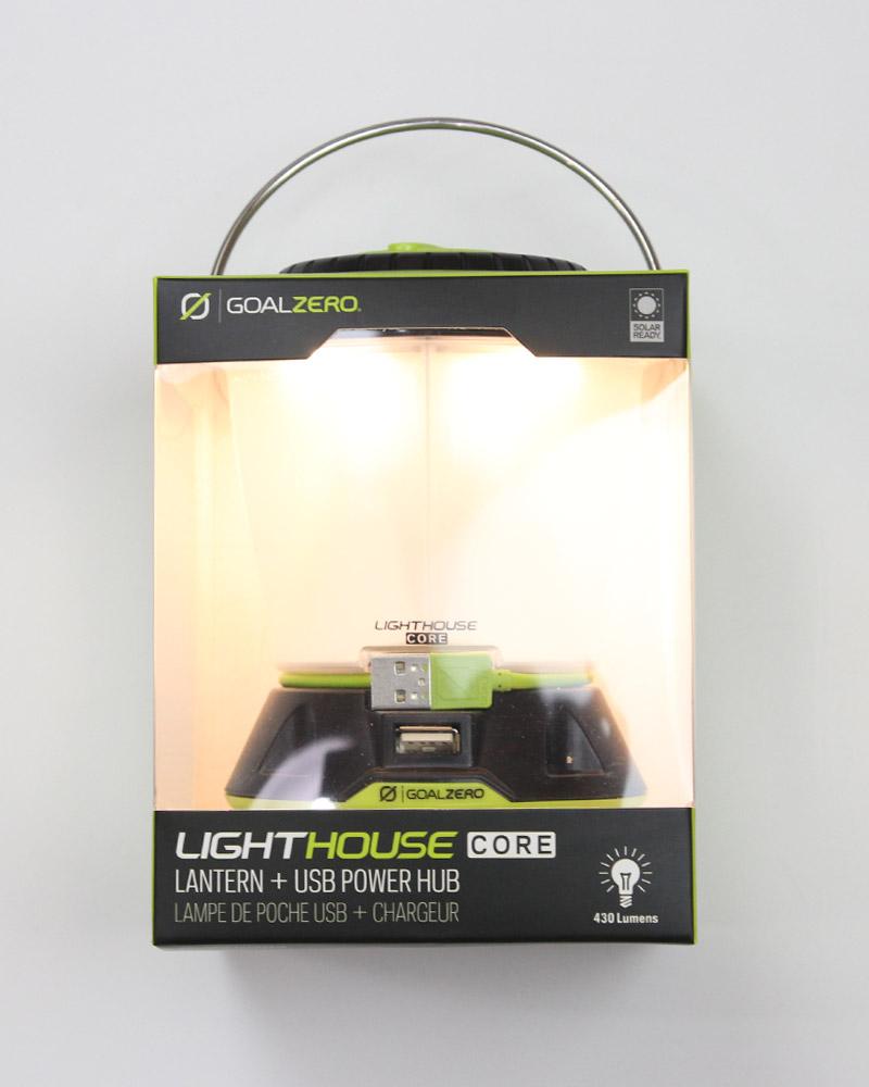 ゴールゼロ ライトハウスマイクロ コア ランタン GOALZERO LIGHTHOUSE CORE LANTERN & USB POWER HUB