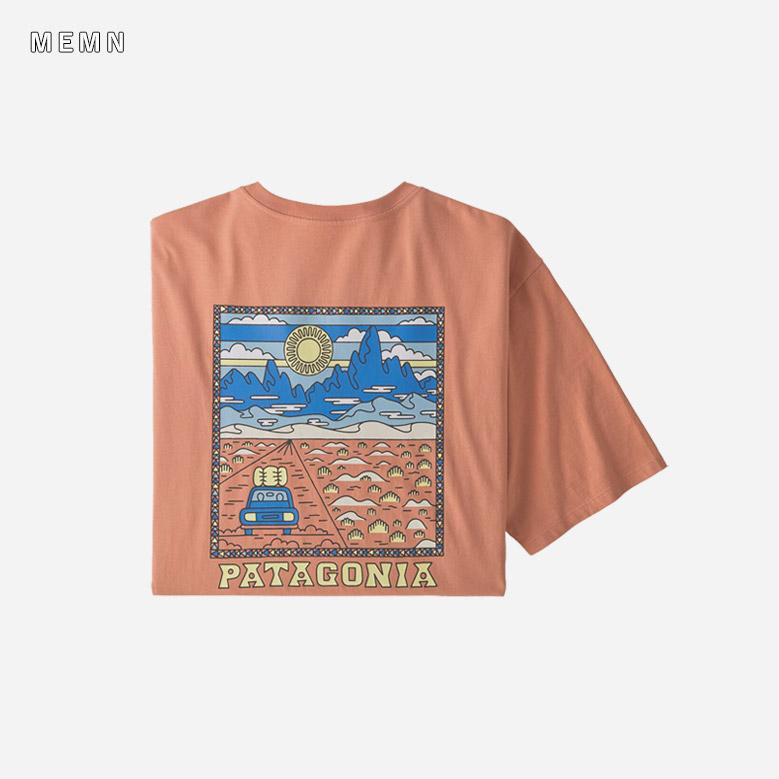 パタゴニア メンズ サミット ロード オーガニック Tシャツ patagonia Mens Summit Road Organic Cotton T-shirt 38537