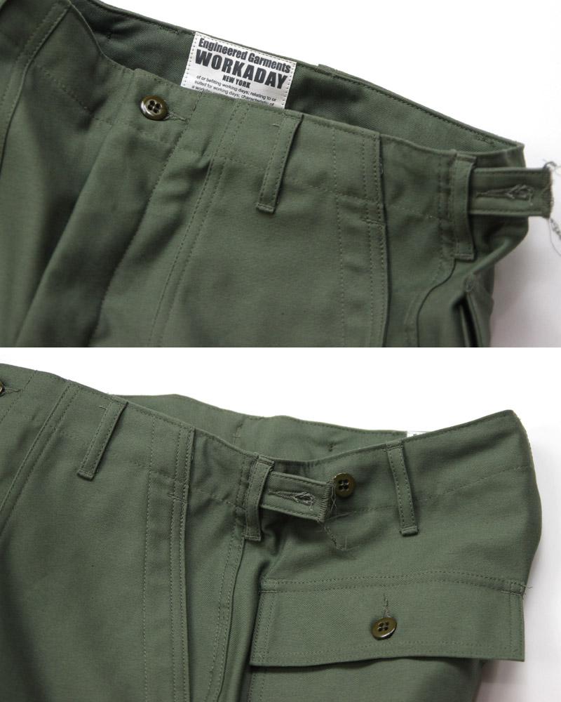 エンジニアードガーメンツ ワーカデイ ファティーグパンツ Engineerd Garments WORKADAY FATIGUE PANTS