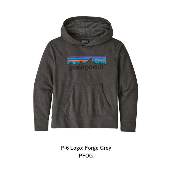 パタゴニア キッズ・ライトウェイト・グラフィック・フーディ・スウェットシャツ 63025