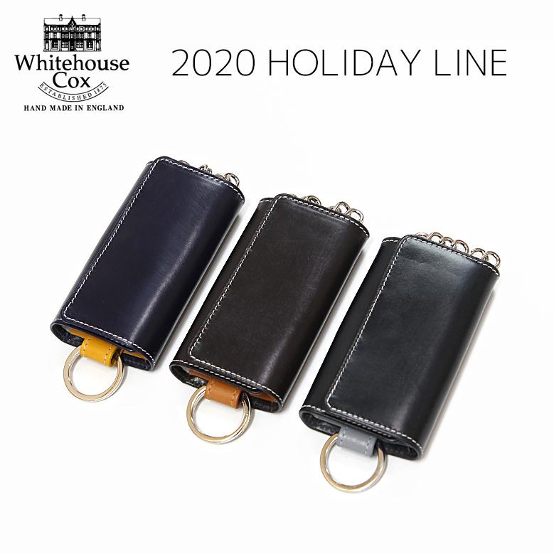 ホワイトハウスコックス キーケース ホリデーライン 2020 Whitehouse Cox S9692 KEYCASE WITH RING Holiday Line 2020