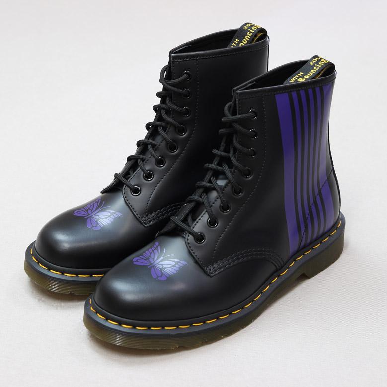 ニードルス ニードルズ スペシャル 8 ホール ストライプ ブーツ NEEDLES SPECIAL 8 HOLES STRIPE BOOT