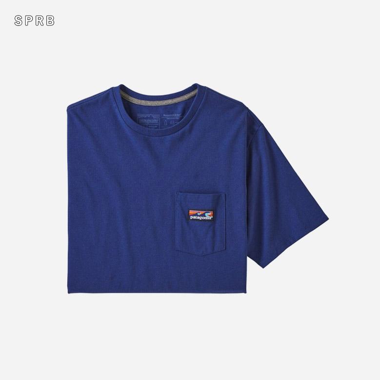 メンズ・ボードショーツ・ラベル・ポケット・レスポンシビリティー Patagonia Boardshort Label Pocket Responsibili-Tee 38518 2020春夏