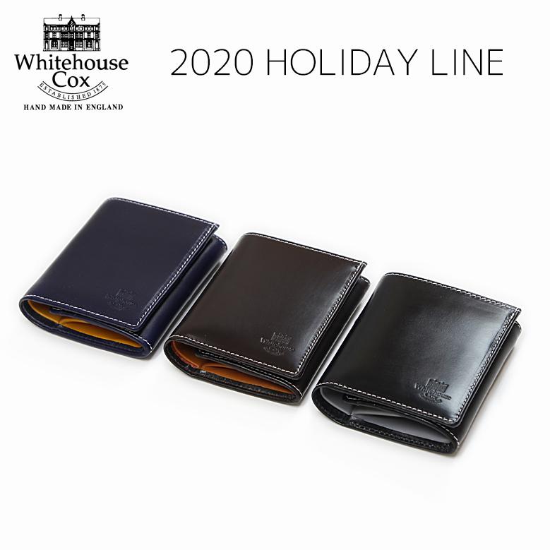 ホワイトハウスコックス コンパクトウォレット ホリデーライン 2020 Whitehouse Cox S1975 COMPACT WALLET Holiday Line 2020