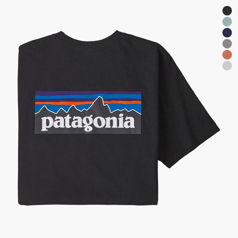 パタゴニア メンズ P-6ロゴ ポケット レスポンシビリティー patagonia Mens P-6 Logo Pocket Responsibili Tee 38512
