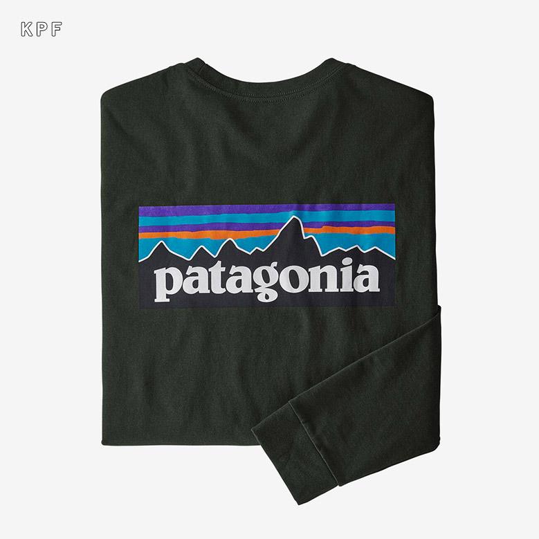 パタゴニア メンズ ロングスリーブ P-6ロゴ レスポンシビリティー patagonia Men's Long-Sleeved P-6 Logo Responsibili-Tee 38518
