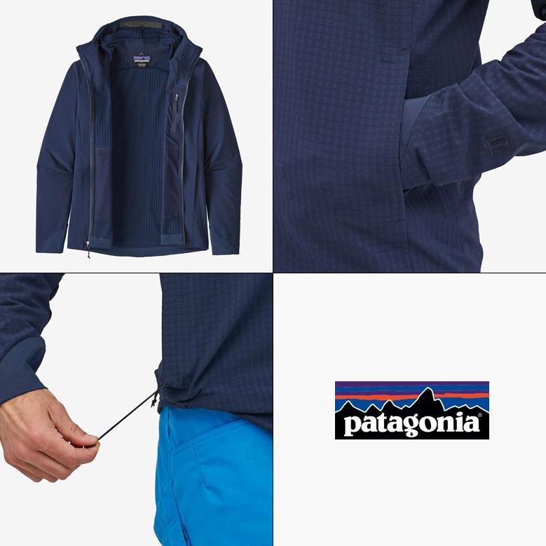 パタゴニア メンズ・R1テックフェイス・フーディ Patagonia M's R1 Techface Hoody 83576