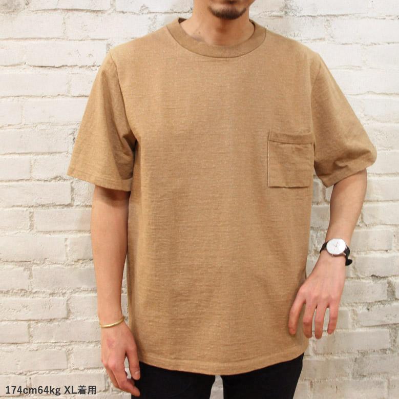 ジャックマン 度詰めポケットTシャツ Jackman Dotsume Pocket T-Shirt JM5870