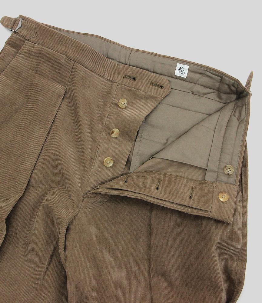 キャプテンサンシャイン ワンプリーツワイドトラウザーズ KAPTAIN SUNSHINE One Pleats Wide Trousers