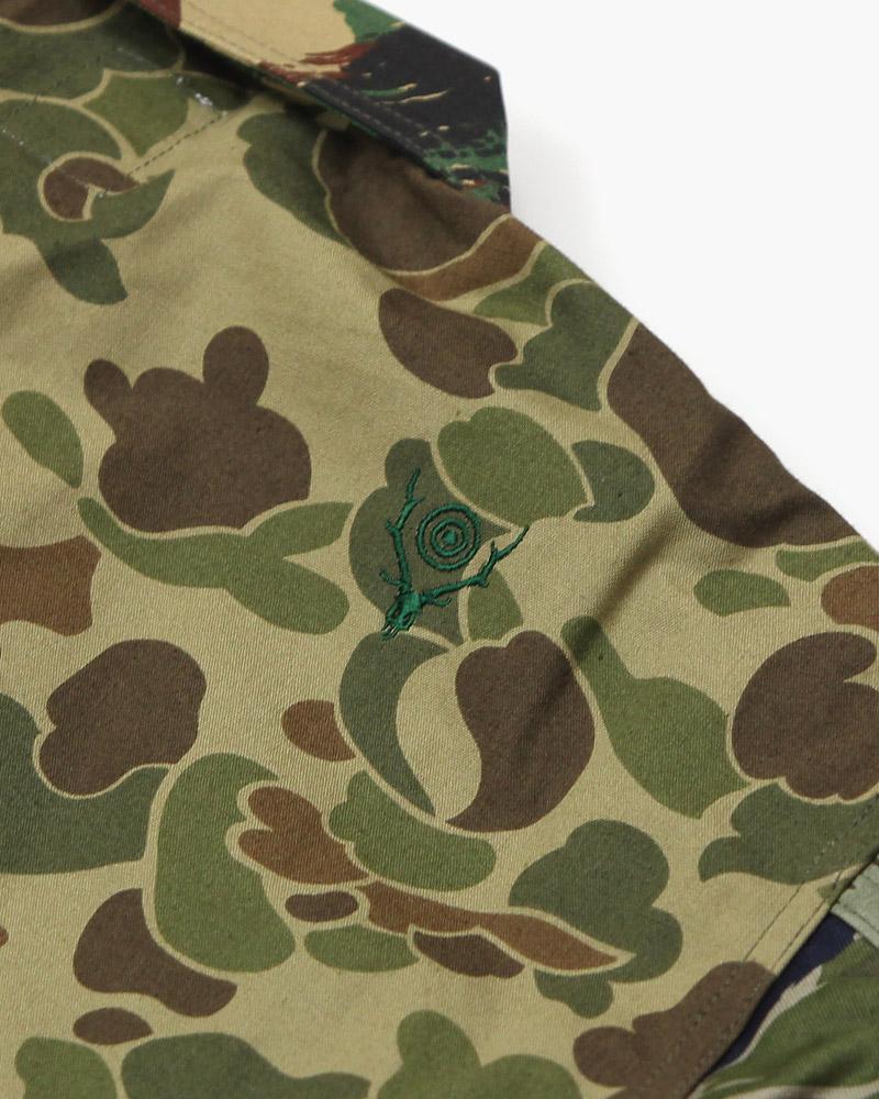 サウスツーウエストエイト スモーキーシャツ South2 West8 Smokey Shirt Crazy Camo