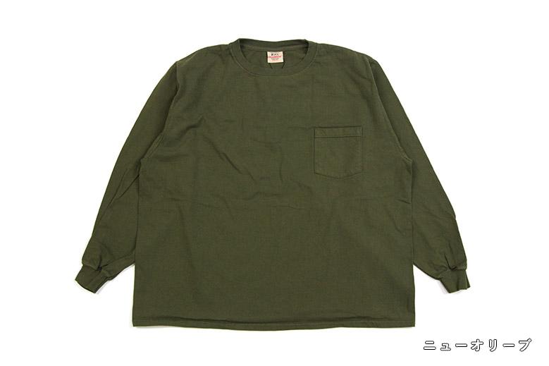 グッドウェア L/S ポケットTシャツ ビッグ Good Wear L/S Pocket T-Shirt Big