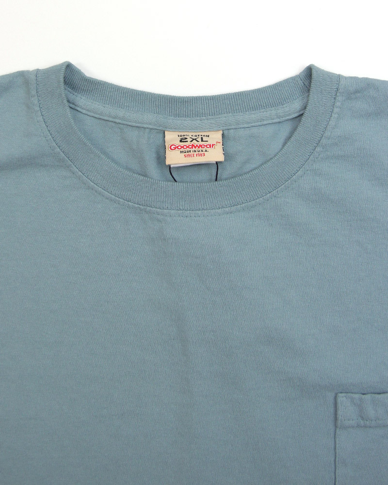 グッドウェア ビッグポケットTシャツ GOODWEAR Pocket Tee Big