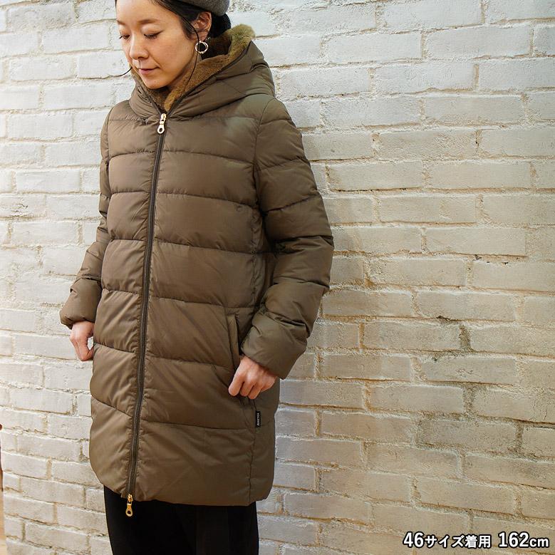 デュベティカ カリスデュエ DUVETICA CARYSDUE Beige Fur-Rabbit 2020秋冬 D8114842N00-11620-RW