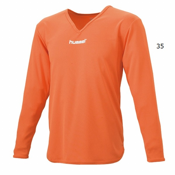 L/Sインナーシャツ(大人用長袖)・hummel(ヒュンメル)HAP5140