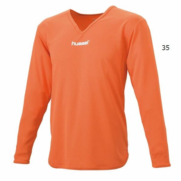 ジュニアL/Sインナーシャツ(ジュニア用長袖)・hummel(ヒュンメル)HJP5140