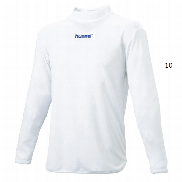 ハイネックインナーシャツ(大人用長袖)・hummel(ヒュンメル)HAP5139