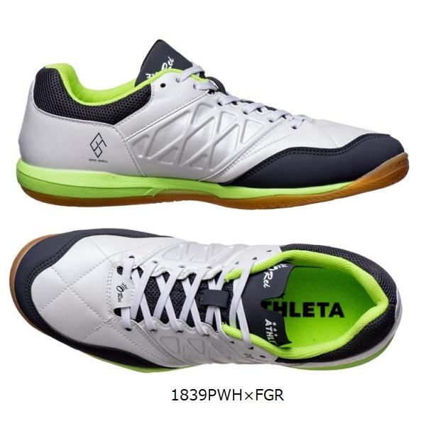 O-Rei Futsal T008(1839PWH×FGR)(フットサルシューズ)・ATHLETA(アスレタオーヘイ)11014【送料無料】