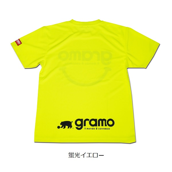 プラクティスTシャツ「nicotto」・gramo(グラモ)P-060