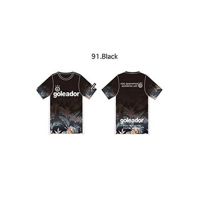 Jr.フラワーグラデーションプラシャツ(半袖)(ジュニア用)・goleador(ゴレアドール)G-2323-1