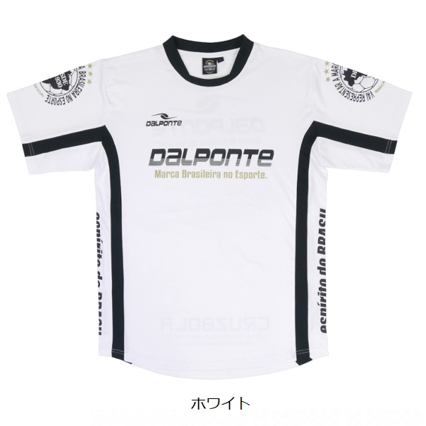 メッシュライトプラクティスシャツ(半袖)・Dalponte(ダウポンチ)DPZ0290