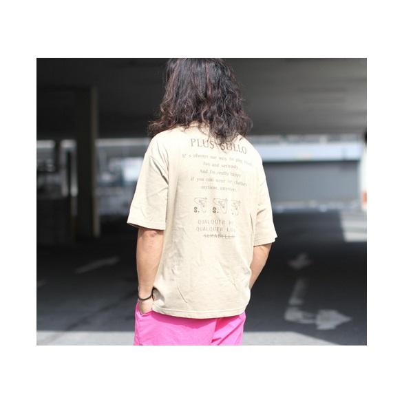 PLUS SULLO TEE(全2カラー) ・sullo(スージョ)1330301004