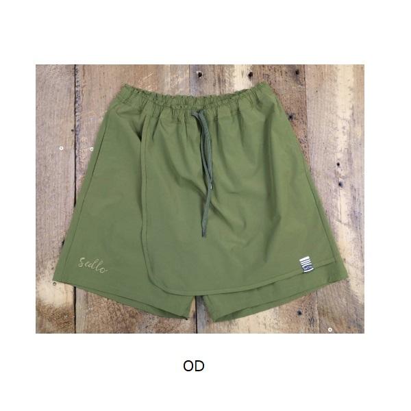 スカートショーツ DELANTAL SHORTS・sullo(スージョ)1222201008