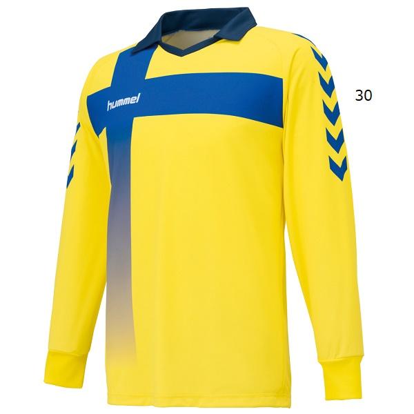 キーパーシャツ(GK長袖シャツ/パッド無し)・hummel(ヒュンメル)HAK1015【大きいサイズも有り】