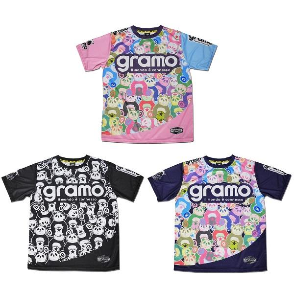 プラクティスシャツ「goodness」・gramo(グラモ)P-058