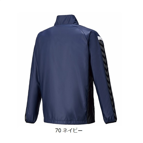 チームウインドブレーカージャケット(大人用)・hummel(ヒュンメル)HAW2078【大きいサイズ有り】