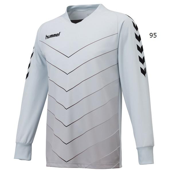 キーパーシャツ(GK長袖シャツ/パッド無し)・hummel(ヒュンメル)HAK1014【大きいサイズも有り】