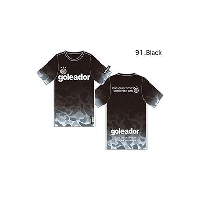 迷彩グラデーションプラシャツ/パンツセット(半袖)(大人用)・goleador(ゴレアドール)G-2321/G-2322
