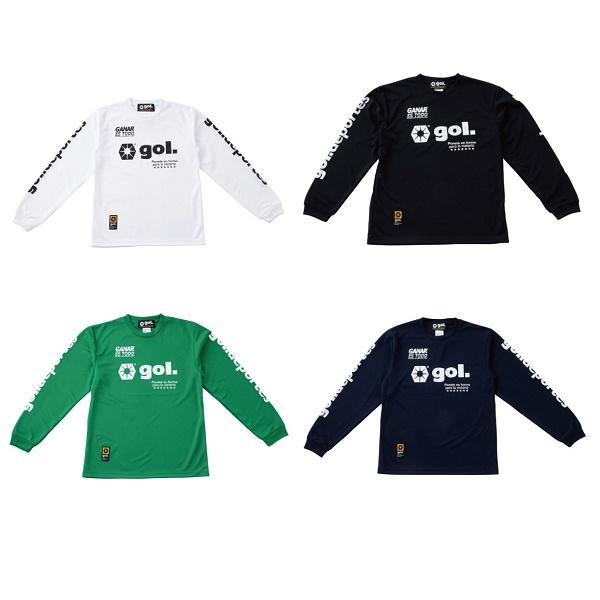 長袖ドライシャツ<LOGOS>・ gol.(ゴル)G191-822