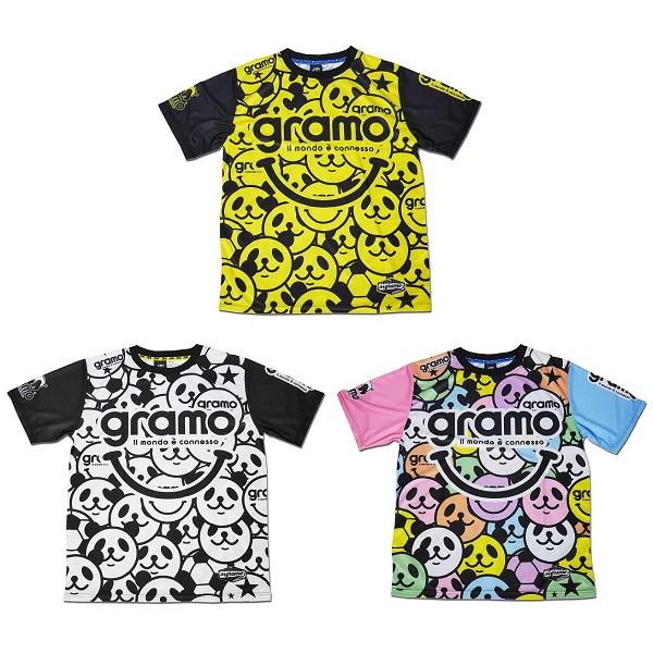 プラクティスシャツ「laugh」・gramo(グラモ)P-057