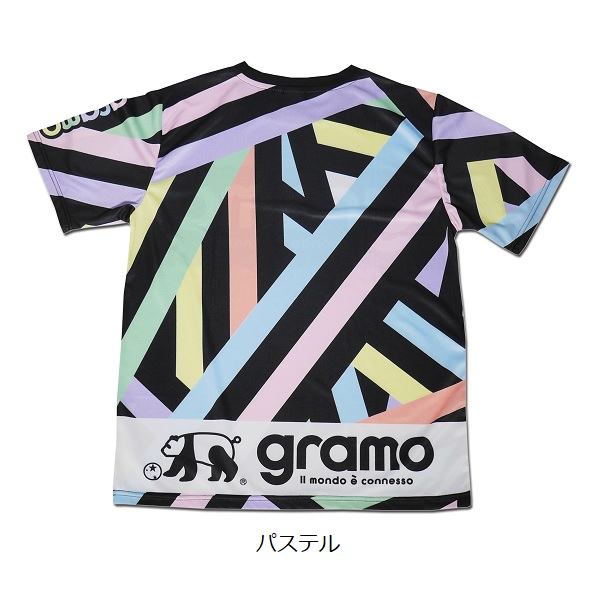 プラクティスシャツ「CROSS」・gramo(グラモ)P-056