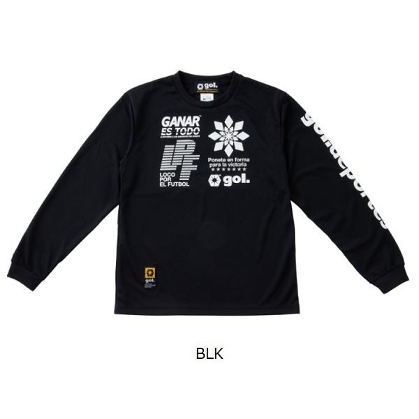長袖ドライシャツ<METADE>・ gol.(ゴル)G191-823